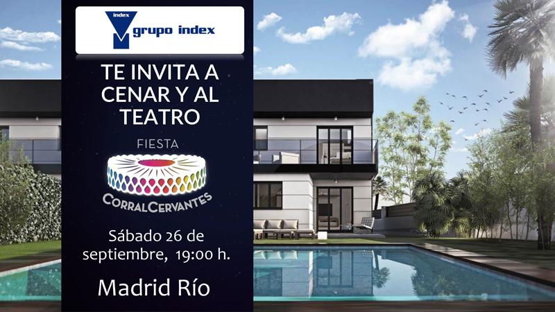 Grupo Index te invita a cenar y al teatro