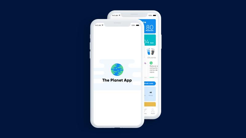 App para reducir mi huella de carbono personal