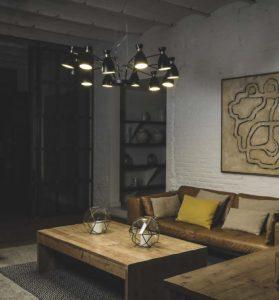 iluminación salón