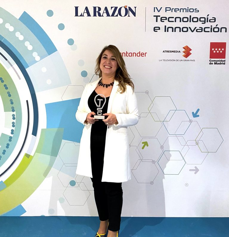 premios La Razón - Grupo Index - Inmaculada Palomo