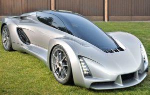 Blade, coche hecho con impresora 3D