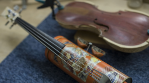 Instrumentos reciclados en la 'Orquesta del Reciclaje'
