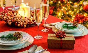 Pon tu mesa de largo para Navidad