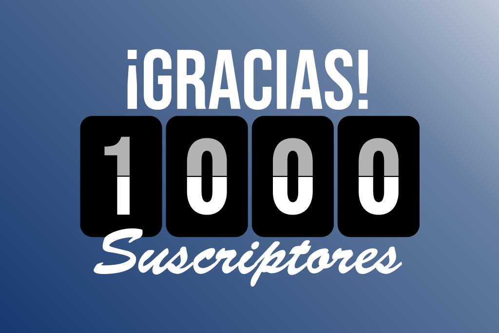 Celebramos los primeros mil suscriptores a nuestra newsletter con premios solares