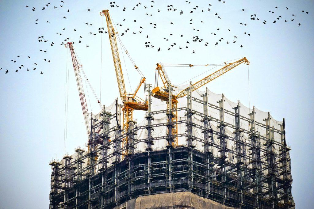 Construcción Grúa