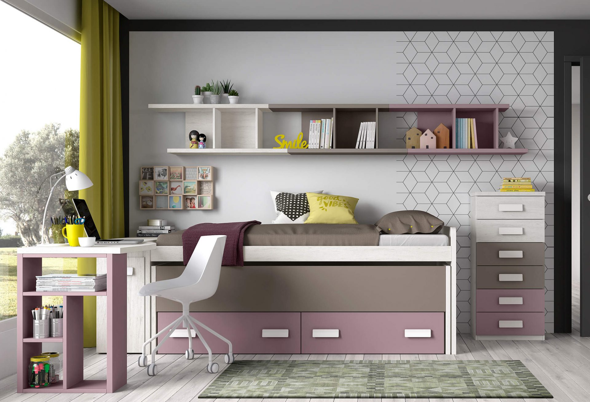 Dormitorio juvenil, prolongar su personalidad