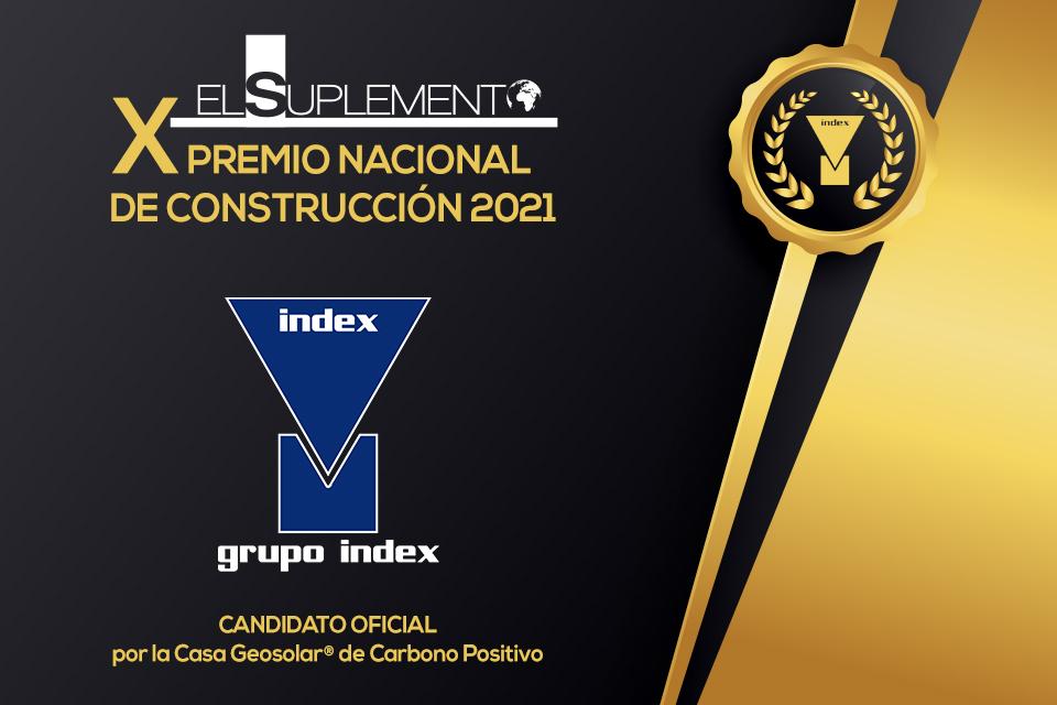 Grupo Index, candidato al X Premio Nacional de Construcción 2021 'El Suplemento'