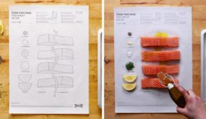 Lee más sobre el artículo Cocinar sobre una hoja: la sorprendente técnica culinaria de Ikea