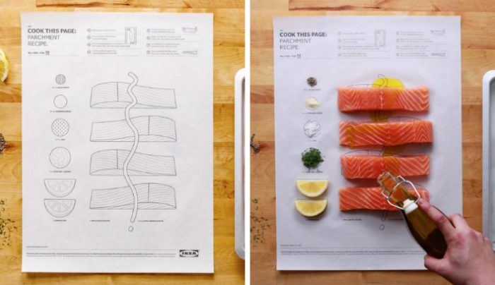 Cook this page Ikea