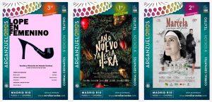 Lee más sobre el artículo Lope, Tirso y el ganador de ArganzuelOROS 2021