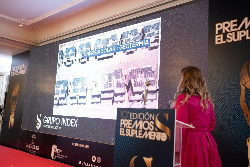 Inmaculada Palomo recibe el Premio Nacional de Construcción 2021